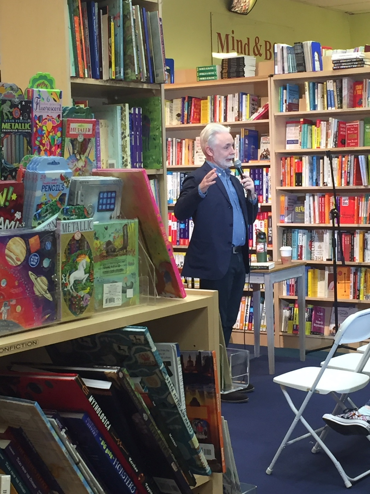 Eoin Colfer at Porter Square Books