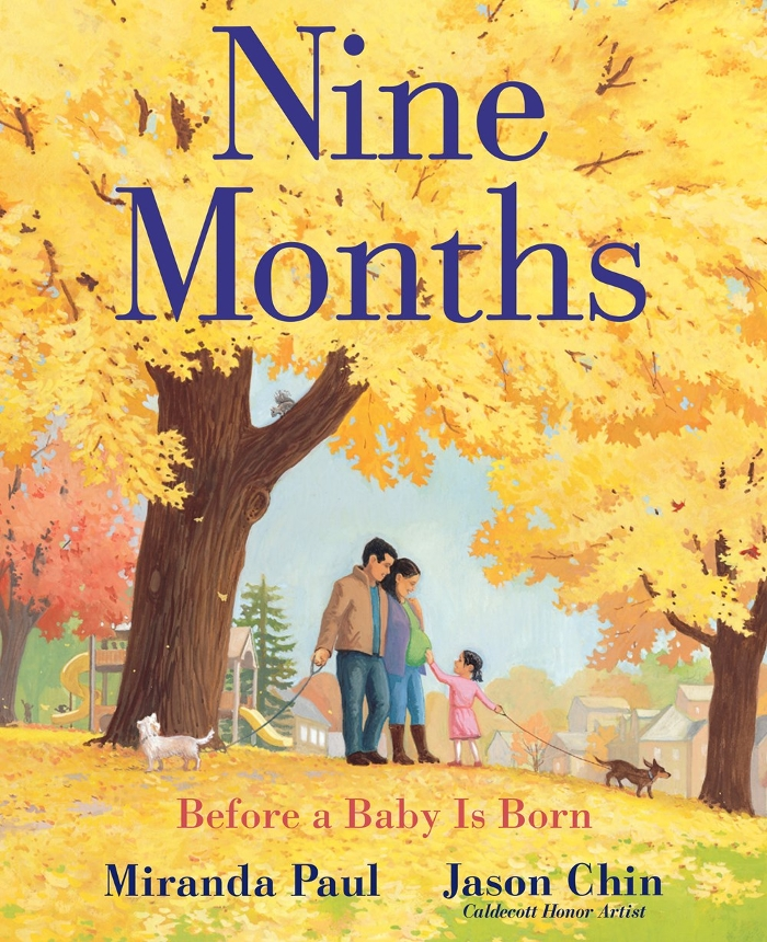Nine Months: Illustrator Jason Chin's 2019 BGHB Nonfiction Honor Speech
