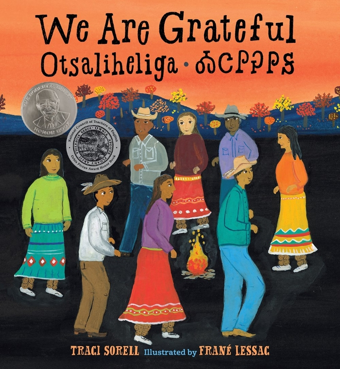 We Are Grateful: Author Traci Sorell and Illustrator Frané Lessac's 2019 BGHB Picture Book Honor Speech