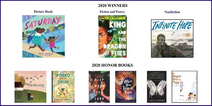 2020 Boston Globe–Horn Book Awards Acceptance Speeches Roundup