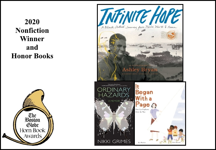 2020 BGHB Nonfiction Award winners extras
