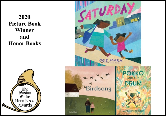 2020 BGHB Picture Book Award winners extras
