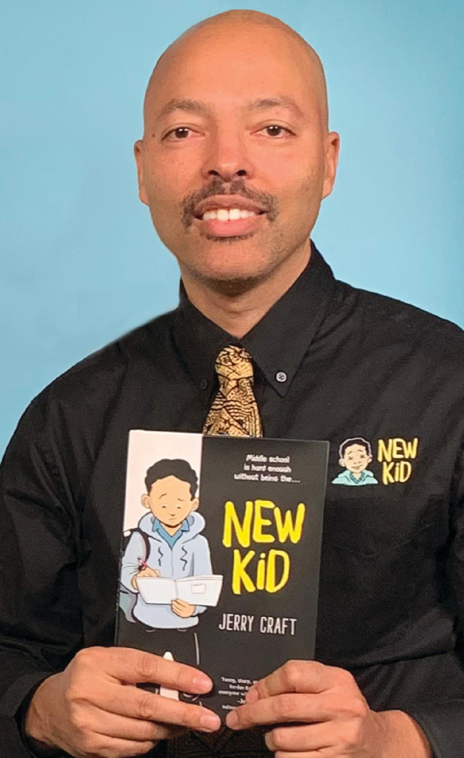 Read Jerry Craft's 2020 Coretta Scott King Book Award Author Acceptance Speech at ALA's Virtual Book Award Celebration