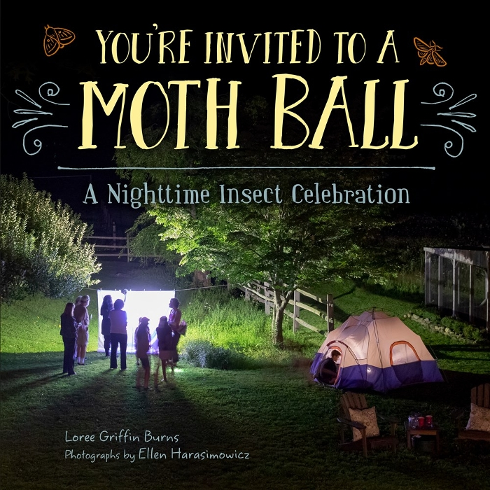 Review of You're Invited to a Moth Ball: A Nighttime Insect Celebration