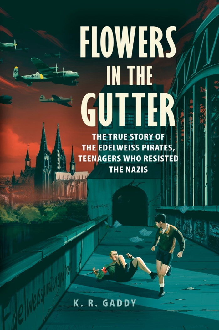 Review of Flowers in the Gutter: The True Story of the Edelweiss Pirates, Teenagers Who Resisted the Nazis