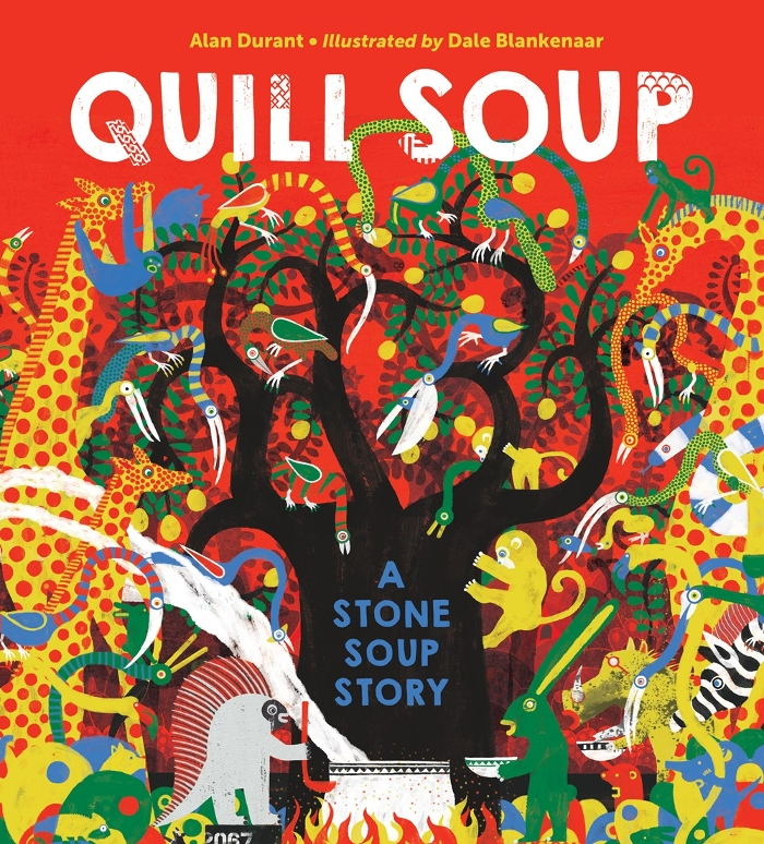 Review of Quill Soup: A Stone Soup Story