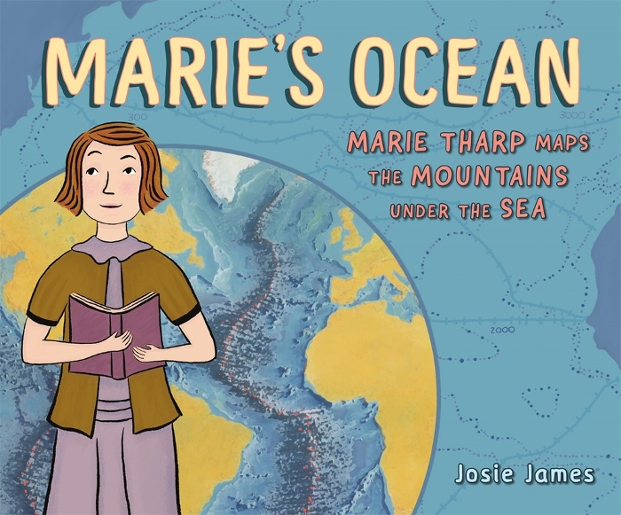 Review of Marie's Ocean: Marie Tharp Maps the Mountains Under the Sea