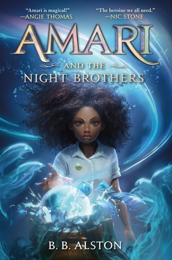 Middle-grade sci-fi/fantasy for Black History Month