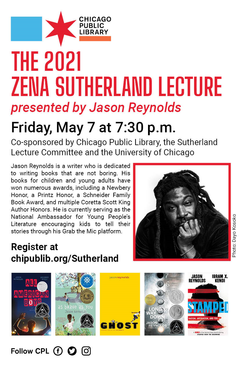 The 2021 Zena Sutherland Lecture