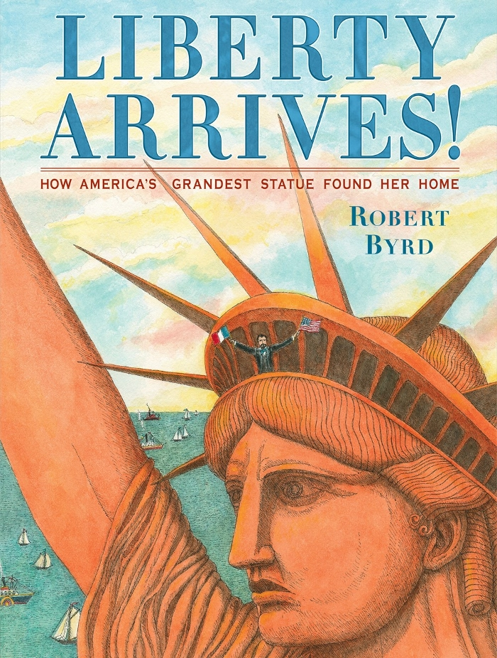 Review of Liberty Arrives!: How America's Grandest Statue Found Her Home