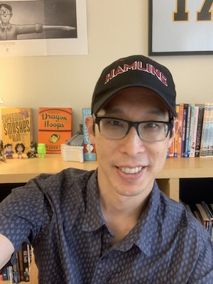 What Is Gene Luen Yang Wearing?