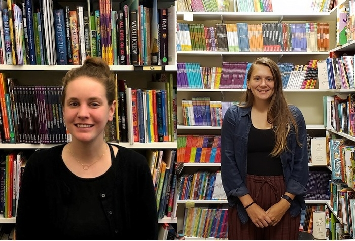 Apply for a spring Horn Book internship + meet interns Natalie and KP!