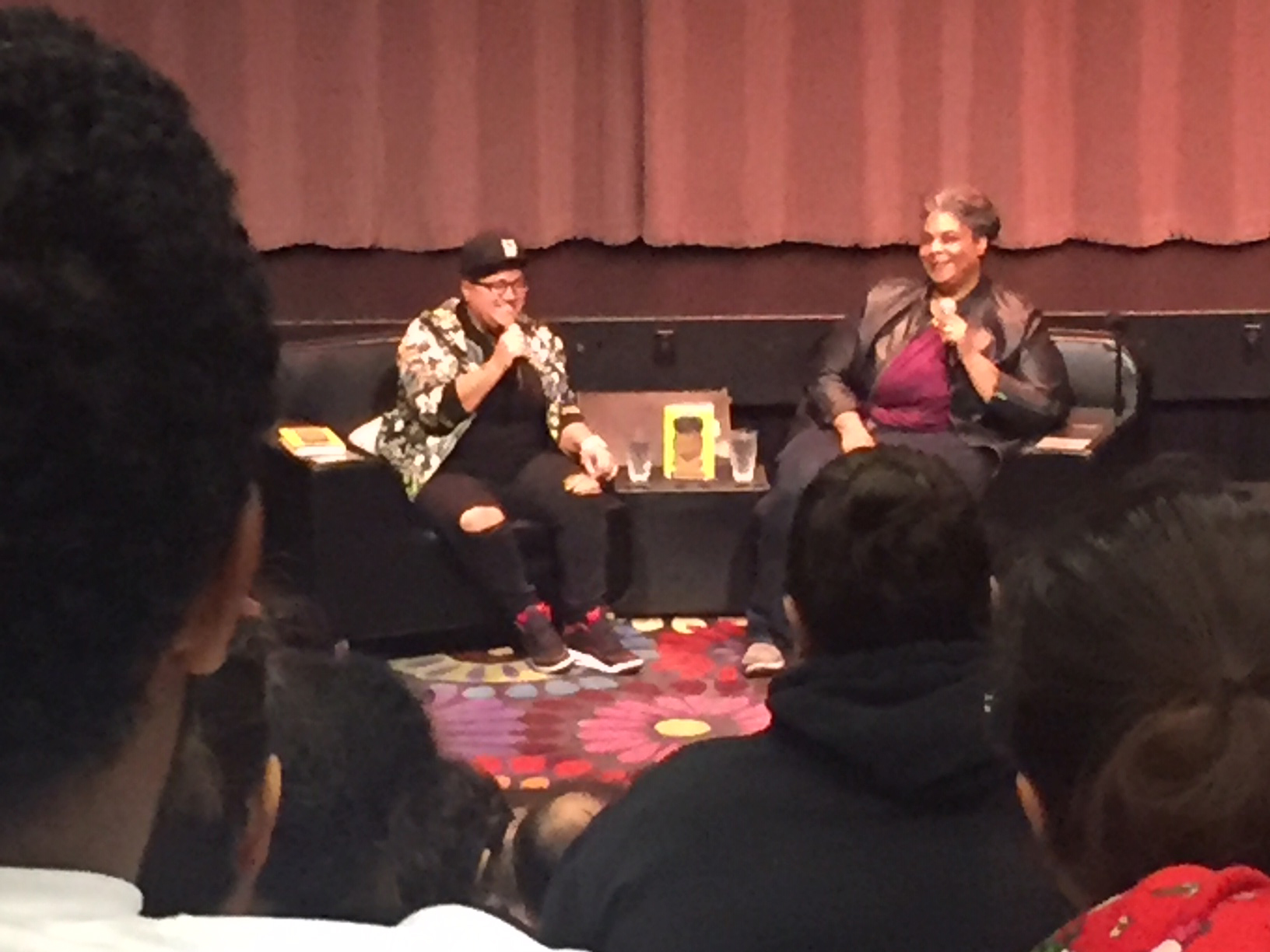 Gabby Rivera and Roxane Gay at CRLS