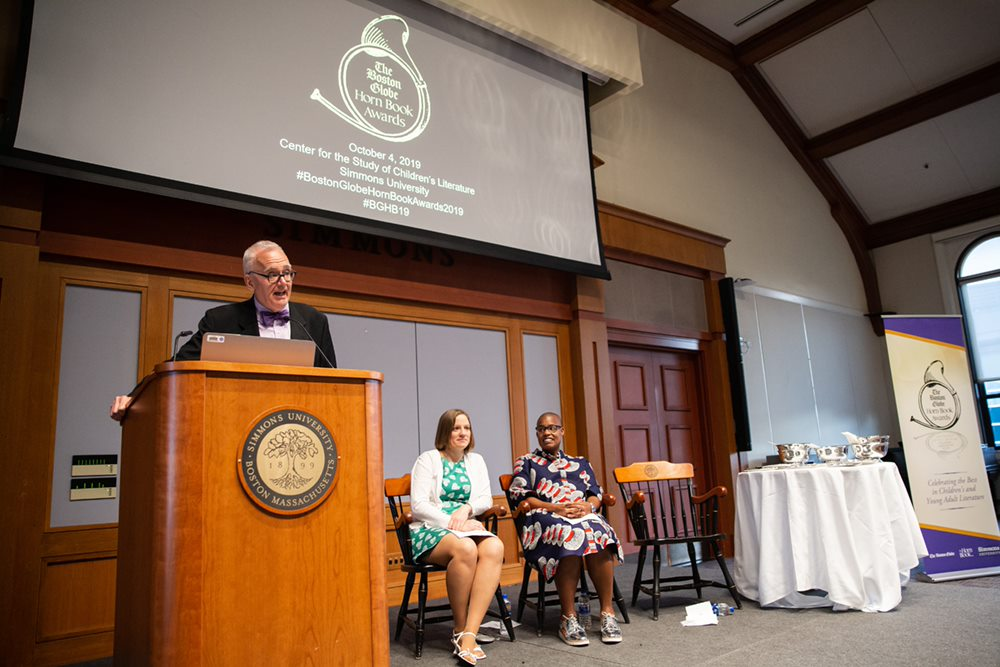 Roger Sutton's 2019 Boston Globe-Horn Book Awards Opening Remarks